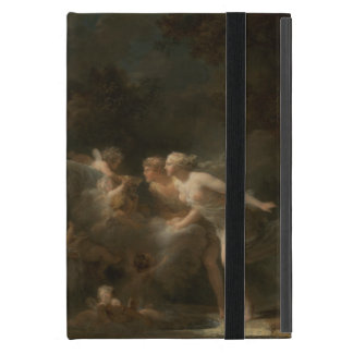 Fountain of Love by Jean-Honore Fragonard iPad Mini Covers
