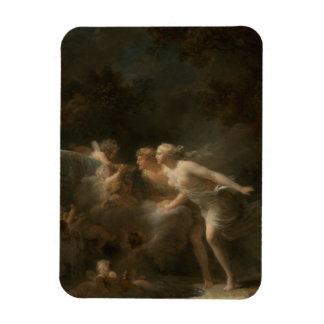 Fountain of Love by Jean-Honore Fragonard Rectangular Photo Magnet