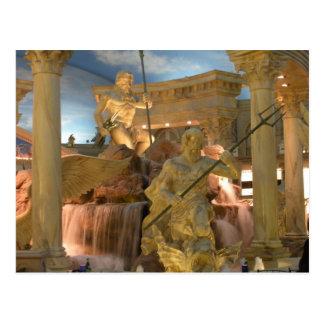 Fountain of the Gods (Zeus) Postcard