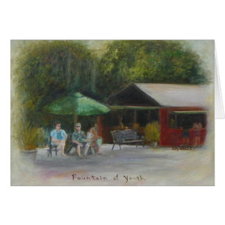 FOUNTAIN OF YOUTH 2 Notecard