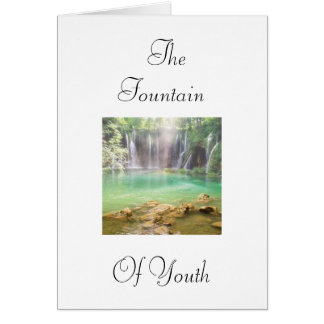 Fountain of Youth Card