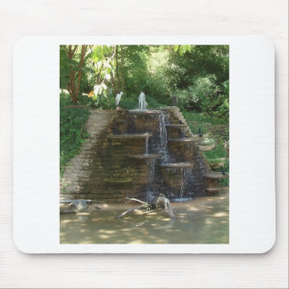 """""""Fountain """" Photography by Carter L. Shepard Mouse Pad"""