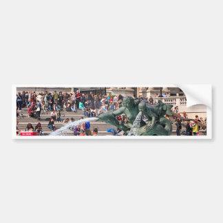 Fountain, Trafalgar Square, London, England 2 Bumper Sticker