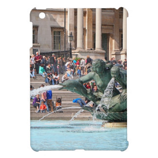 Fountain, Trafalgar Square, London, England 2 Case For The iPad Mini