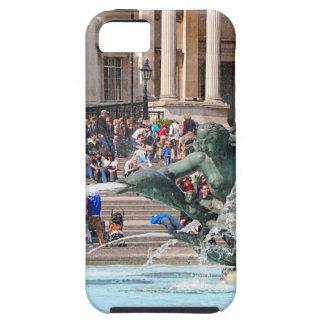 Fountain, Trafalgar Square, London, England 2 Case For The iPhone 5