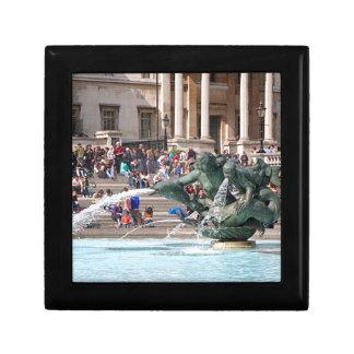 Fountain, Trafalgar Square, London, England 2 Gift Box