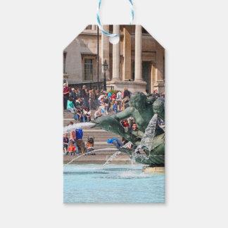 Fountain, Trafalgar Square, London, England 2 Gift Tags