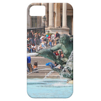 Fountain, Trafalgar Square, London, England 2 iPhone 5 Case