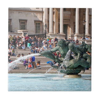 Fountain, Trafalgar Square, London, England 2 Tile