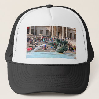 Fountain, Trafalgar Square, London, England 2 Trucker Hat