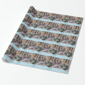 Fountain, Trafalgar Square, London, England 2 Wrapping Paper