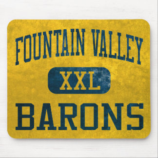 Fountain Valley Barons Athletics Mouse Pad