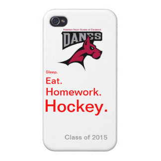 Fountain Valley School Danes Hockey Phone Case iPhone 4 Covers