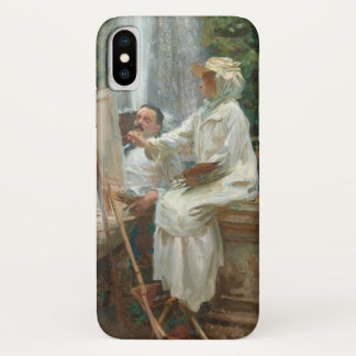 Fountain Villa Torlonia Frascati, Italy by Sargent Case-Mate iPhone Case