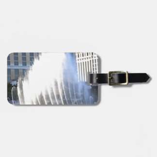 Fountains and Architecture along the Las Vegas Str Luggage Tag