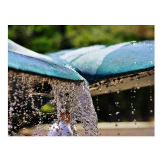 Fountains At The Birch Aquarium In La Jolla Postcard