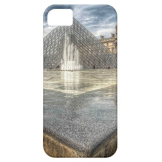 Fountains at The Louvre Paris France iPhone 5 Cover