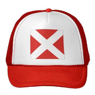 Four (4) Signal Flag Trucker Hat
