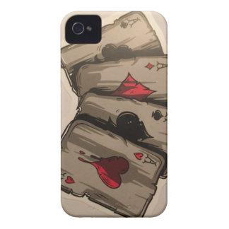 Four Aces iPhone 4 Case