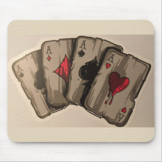 Four Aces Mouse Pad