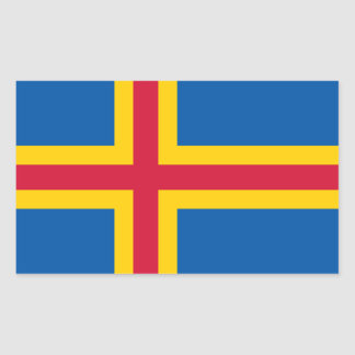 FOUR Aland Flag Sticker