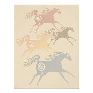 Four Ancient Horses Letterhead