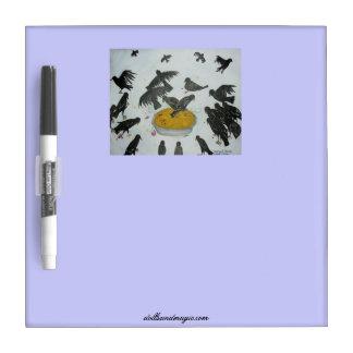 Four and Twenty Blackbirds Dry Erase Board