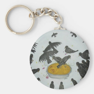 Four and twenty blackbirds keychain