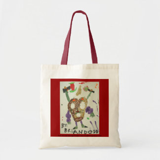 Four Armed Savage Pretzel Man Tote Bag