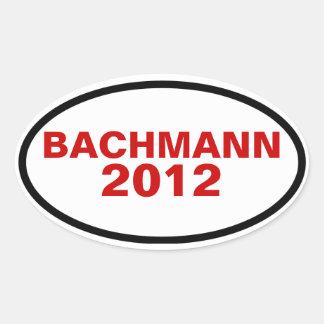 FOUR Bachmann 2012 Oval Sticker