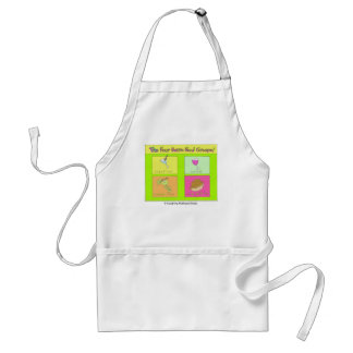 Four Basic Food Groups Standard Apron