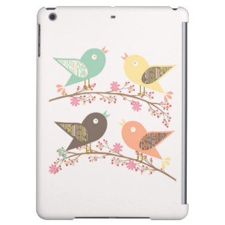Four birds case for iPad air