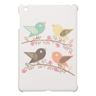 Four birds iPad mini cases