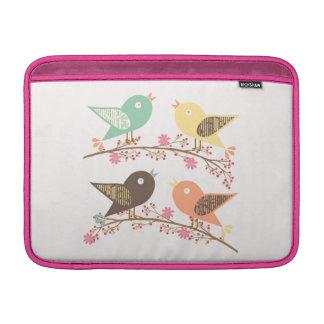 Four birds MacBook air sleeve
