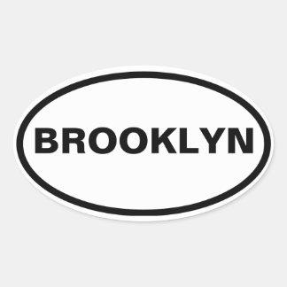 FOUR Brooklyn Oval Sticker