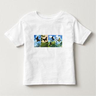 Four Butterflies Toddler T-shirt