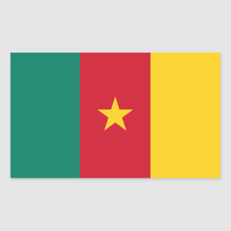 FOUR Cameroon National Flag Sticker