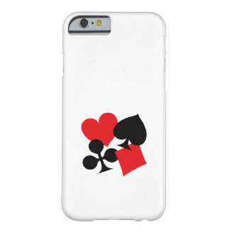 Four Card Suits Barely There iPhone 6 Case