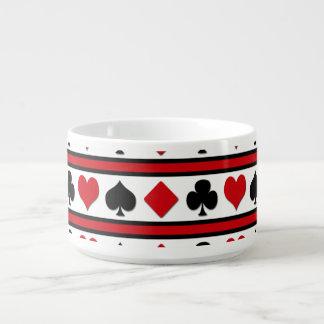 Four card suits bowl