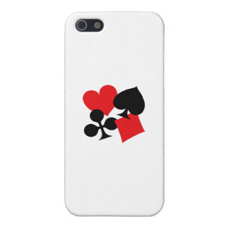 Four Card Suits Case For iPhone 5/5S