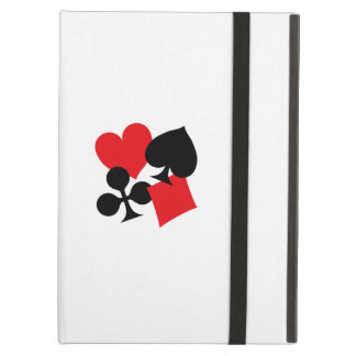 Four Card Suits Cover For iPad Air