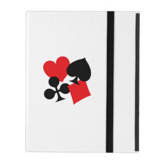 Four Card Suits iPad Cover
