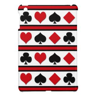 Four card suits iPad mini cover
