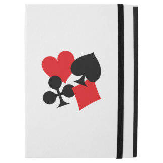 "Four Card Suits iPad Pro 12.9"" Case"