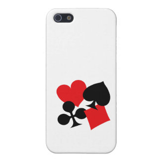 Four Card Suits iPhone 5/5S Cases