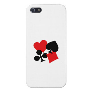 Four Card Suits iPhone 5/5S Cover