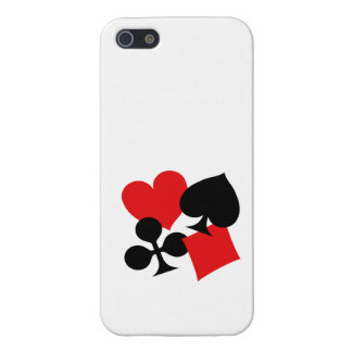 Four Card Suits iPhone 5/5S Covers
