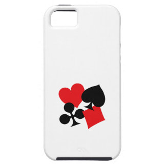 Four Card Suits iPhone 5 Covers