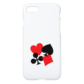 Four Card Suits iPhone 8/7 Case