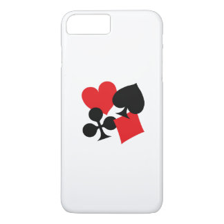 Four Card Suits iPhone 8 Plus/7 Plus Case